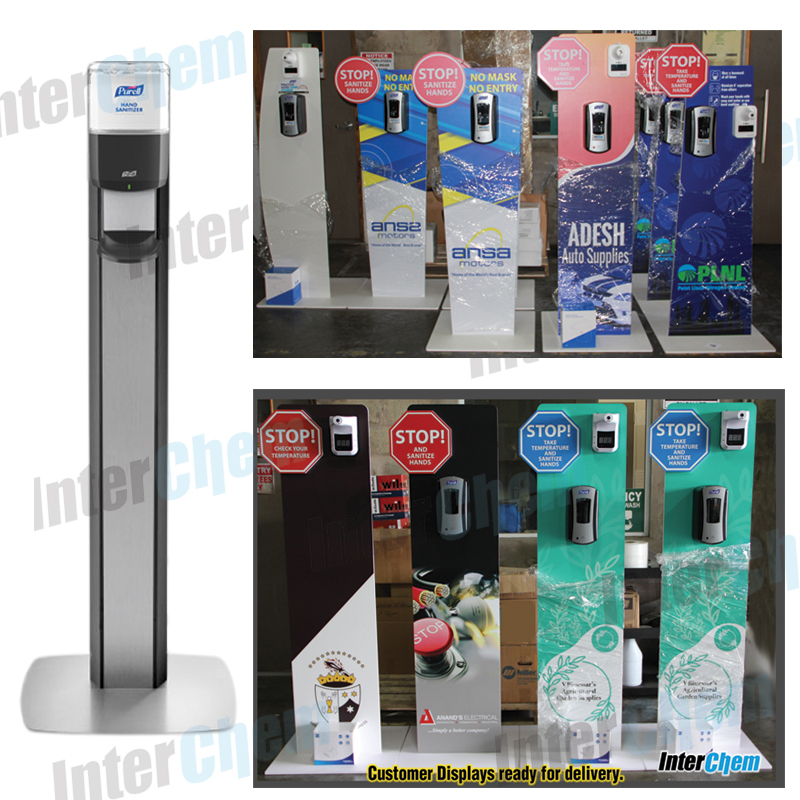 DISPLAYS & THERMOMETERS